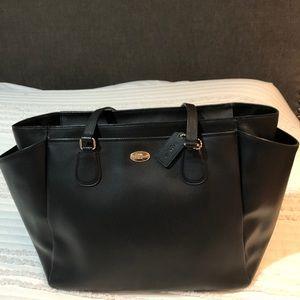 Coach baby messenger bag